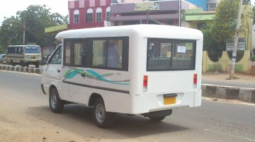 Spied - Are you the Ashok Leyland Dost Express?