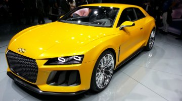 Frankfurt Live - Audi Sport Quattro Concept brings a legend back to life
