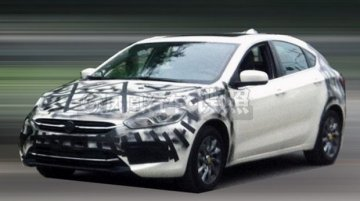 China - Fiat Viaggio hatchback spotted testing, is it the Bravo replacement?