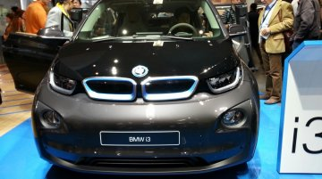 Frankfurt Live - BMW i3 makes its motorshow debut