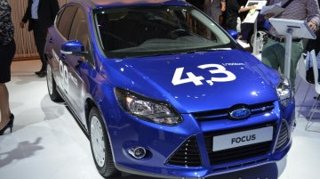 Frankfurt Live - 1.0L EcoBoost powered Ford Focus emits just 99g/km of CO2