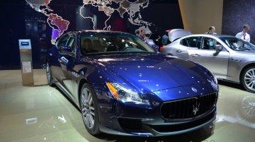 Frankfurt Live - Maserati Quattroporte Diesel world premieres