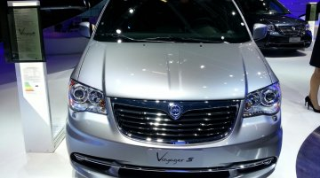 Frankfurt Live - Lancia Voyager S and 2014 Delta in attendance