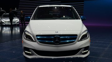 Frankfurt Live - Mercedes B-Class Electric Drive on display