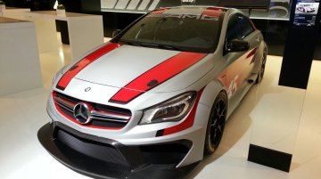 Frankfurt Live - Mercedes CLA 45 AMG Racing Series and CLA 250 Sports Edition launched