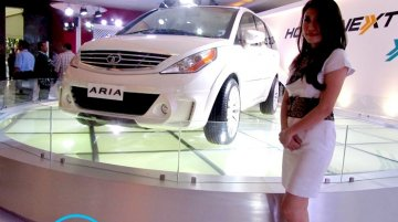 Indonesia - Tata shows modified Aria and Safari Storme