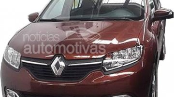 Brazil - First image of the locally made second gen Renault Logan surfaces