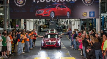 USA - GM's Lansing plant builds 1 millionth Cadillac