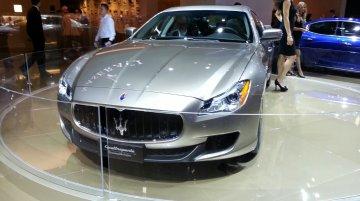 Frankfurt Live - Maserati Quattroporte Ermenegildo Zegna Concept gets previewed ahead of production