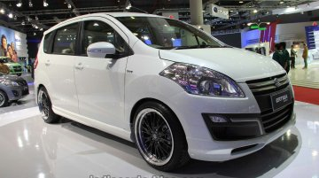 Suzuki Ertiga 'Sporty' was shown at the IIMS 2013