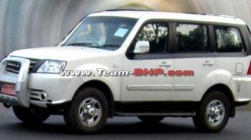Spied - Tata Sumo Grande Facelift begins testing