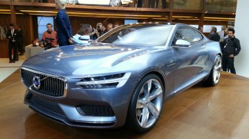 Frankfurt Live - Volvo Concept Coupe sets the brand's new design direction