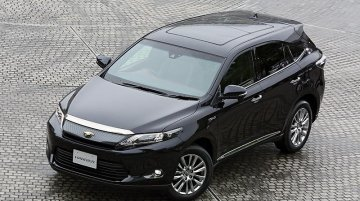 New photos of the 2014 Toyota Harrier available