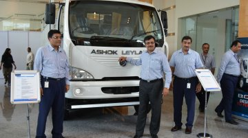 Ashok Leyland Boss truck launched nationally