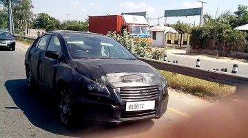 Spied - Maruti YL1 Sedan (SX4 replacement) caught testing in Gurgaon