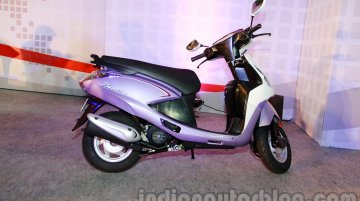 Hero Pleasure Facelift - Image Gallery from the launch