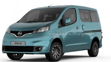Auto Expo Live - Updated Nissan Evalia revealed