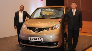 Updated Nissan Evalia launched at INR 8.78 lakhs [Image Gallery updated]