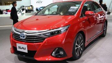 2013 Tokyo Motor Show Live - 2014 Toyota Sai