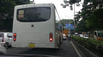 Spotted: Ashok Leyland's Jan Bus continues testing in Chennai