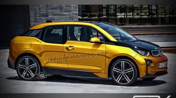 Render - BMW could stretch the i3 to spin off an 'i5' family car