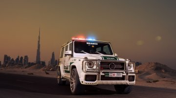 Dubai Police adds the Brabus B63S-700 Widestar to its collection [Not a spoof]