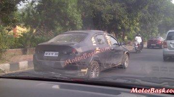 Spied - Maruti YL1 (SX4 successor) spotted testing in Delhi