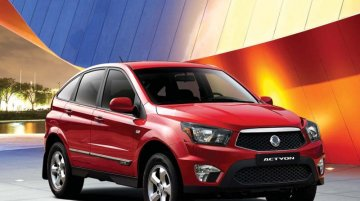 Report - Sales of the updated Ssangyong Actyon begin