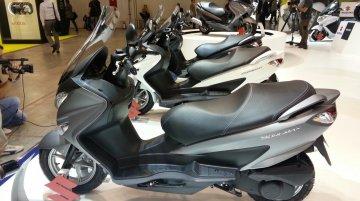 EICMA Live - 2014 Suzuki Burgman 125 ABS on display