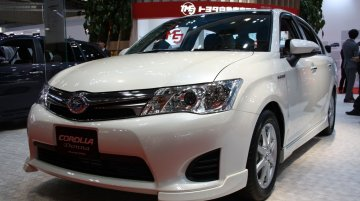 2013 Tokyo Motor Show Live - JDM Toyota Corolla Hybrid