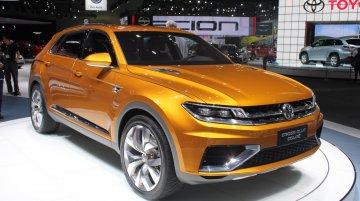 LA Live - VW CrossBlue Coupe Concept