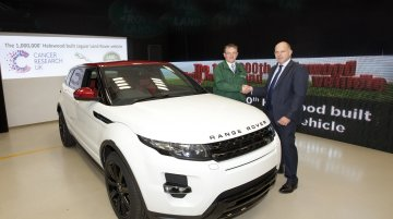 Jaguar Land Rover celebrates 1 millionth vehicle production at Halewood