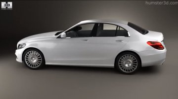 Video - 2014 Mercedes C-Class modeled in 3D