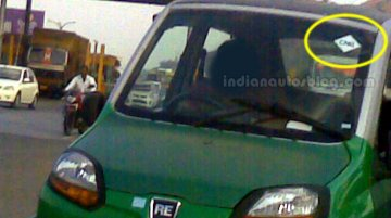 SCOOP! Bajaj RE60 CNG caught on test