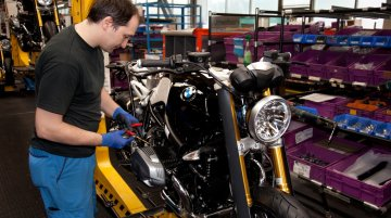 Germany - BMW commences production of R nineT