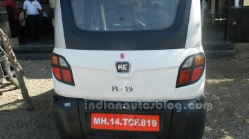 Spied - Bajaj RE60 caught on test, yet again