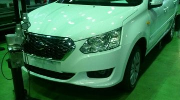 Russia - First Datsun sedan spotted with zero camouflage