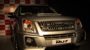 IAB Report - Locally made Isuzu MU-7 priced at Rs 22.3 lakh