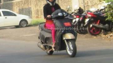 IAB Exclusive - Mahindra's new 110cc Activa-challenger takes shape for Auto Expo debut