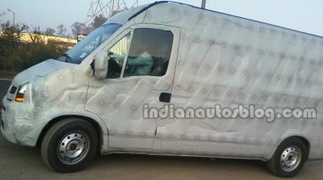 Spied - Next generation Tata Winger (Renault Master) starts testing
