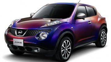 Japan - Nissan announces dynamic-colored Juke special edition
