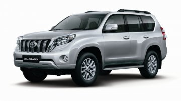 Toyota launches refreshed Land Cruiser Prado in India at 84.87 lakh