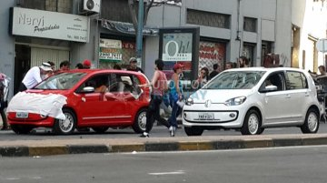 Uruguay - South American VW Up! spotted during its TVC filming