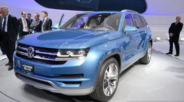 Report - Skoda confirms plans for a large SUV in 2016