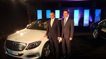 Live - 2014 Mercedes S Class launched at INR 1.57 crores