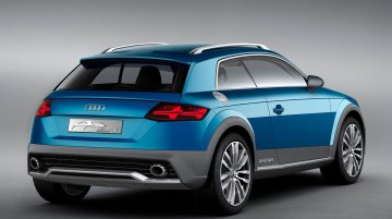 Audi's Crossover Coupe concept leaks, previews the brand's smallest SUV