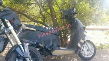 Spied - Mahindra's 110cc Activa challenger spotted testing with the Mojo
