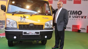 IAB Report - Mahindra Maxximo School van with safety features launched