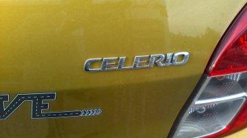 Maruti Celerio at the dealership