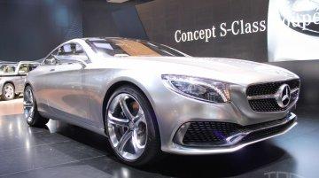 NAIAS Live - Mercedes-Benz Concept S-Class Coupe visits Motor City